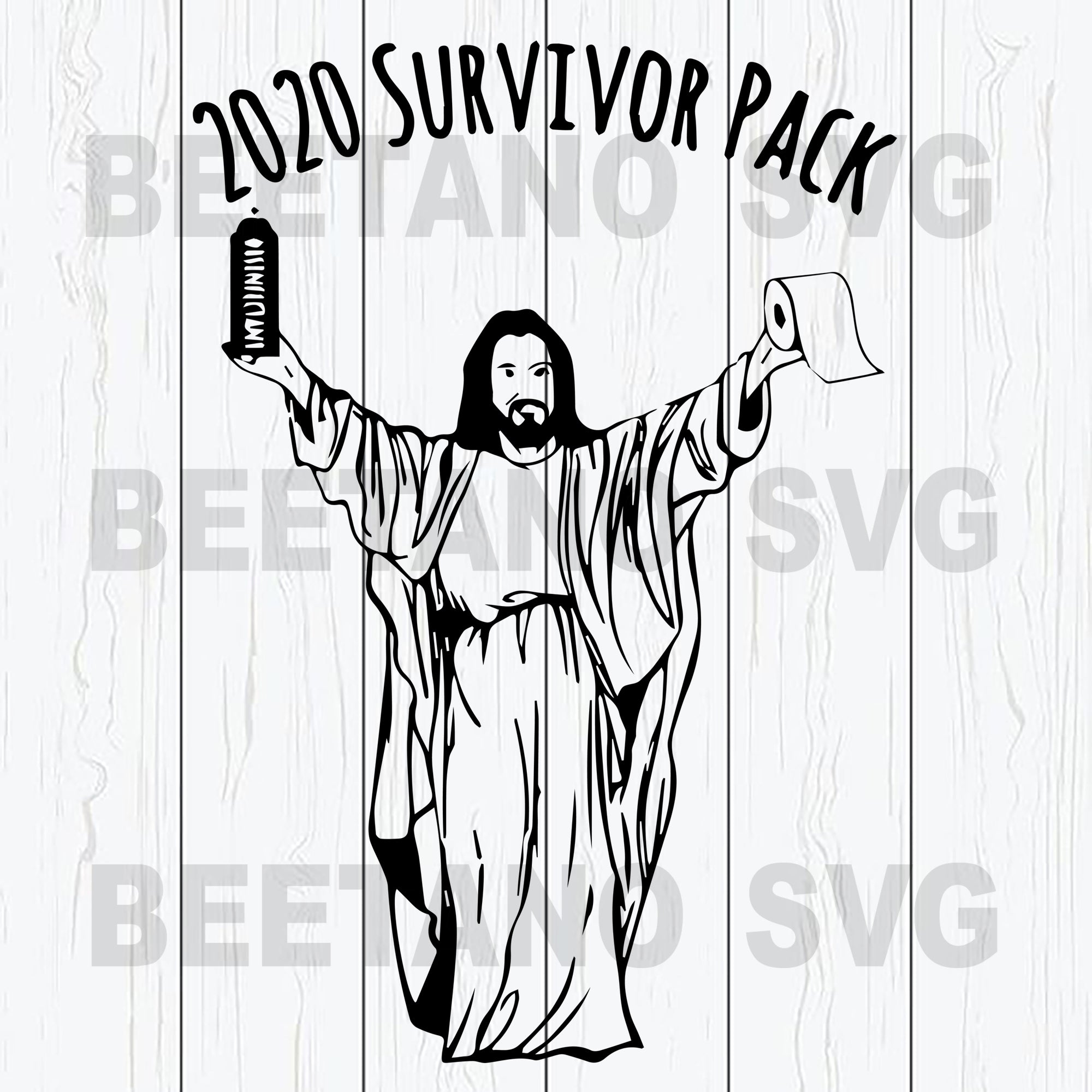 Jesus 2020 Survivor Pack Svg Files, 2020 Jesus Svg, Jesus Svg Files, Jesus Files For Cricut