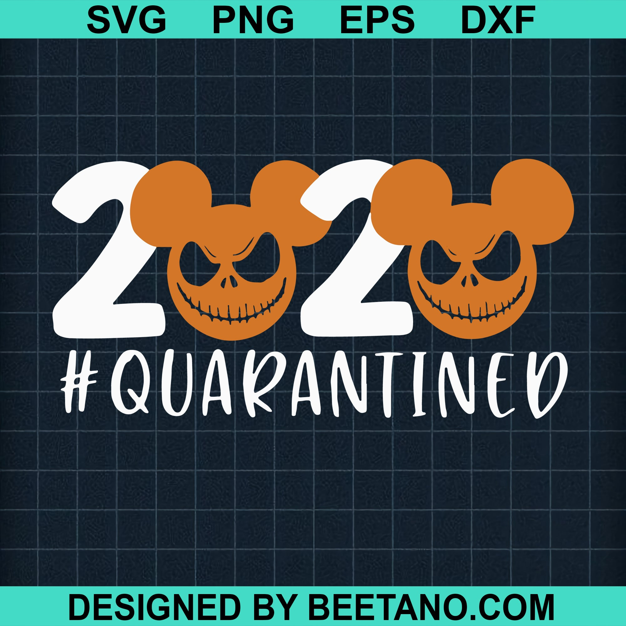 2020 quarantined halloween mickey
