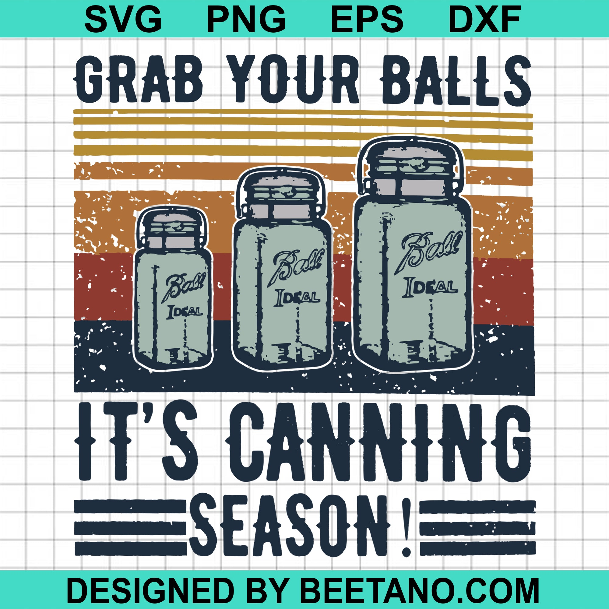 Grab your ball it's canning season