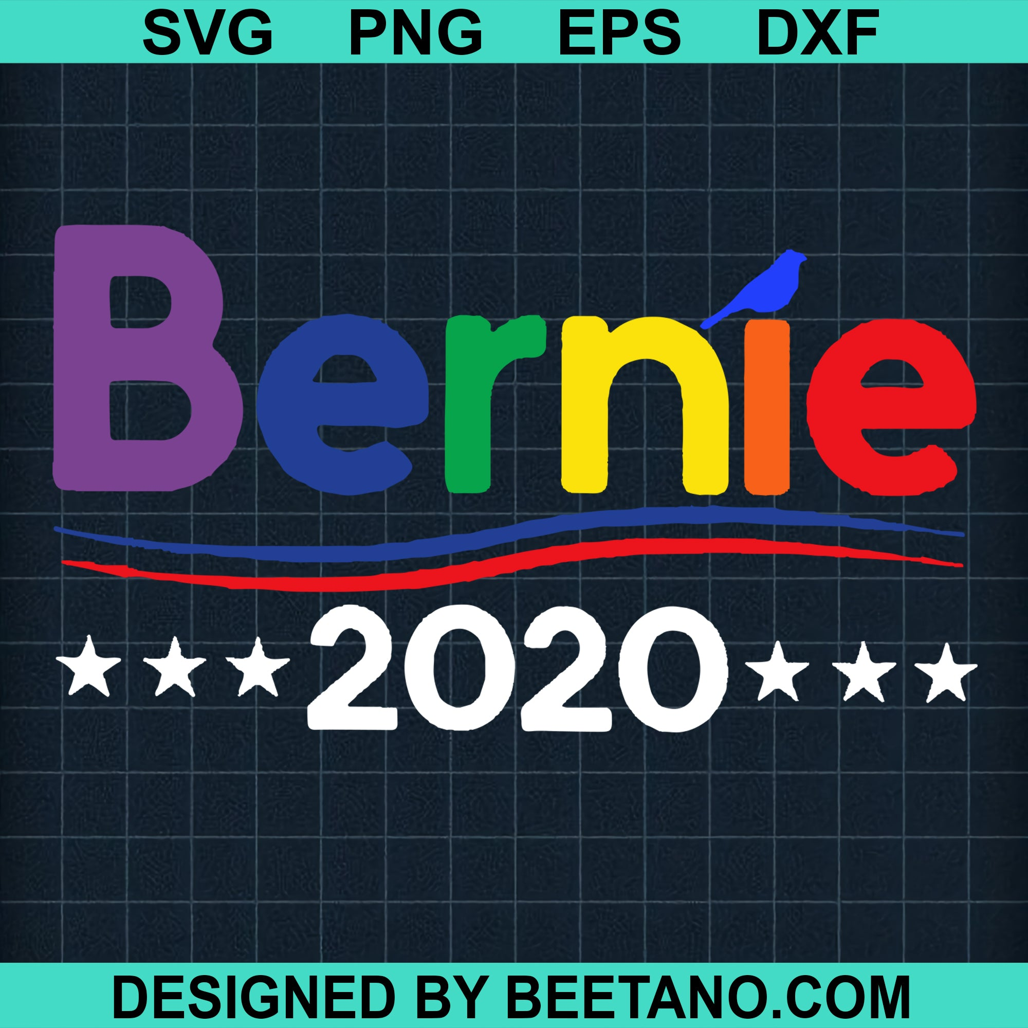 Bernie 2020 Cutting Files For Cricut, SVG, DXF, EPS, PNG Instant Download
