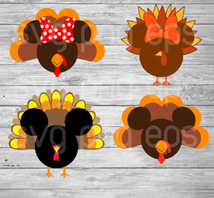 Mickey thanksgiving svg, thanksgiving svg, turkey mickey svg, mickey thanksgiving cutting files, mickey svg, thanksgiving bundle svg files