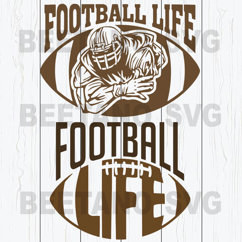 Football Life Svg Bundle
