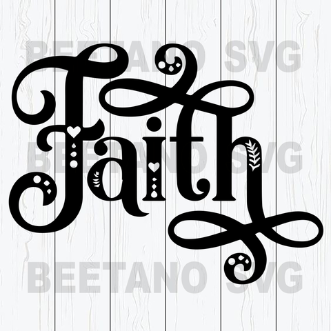 Faith Svg
