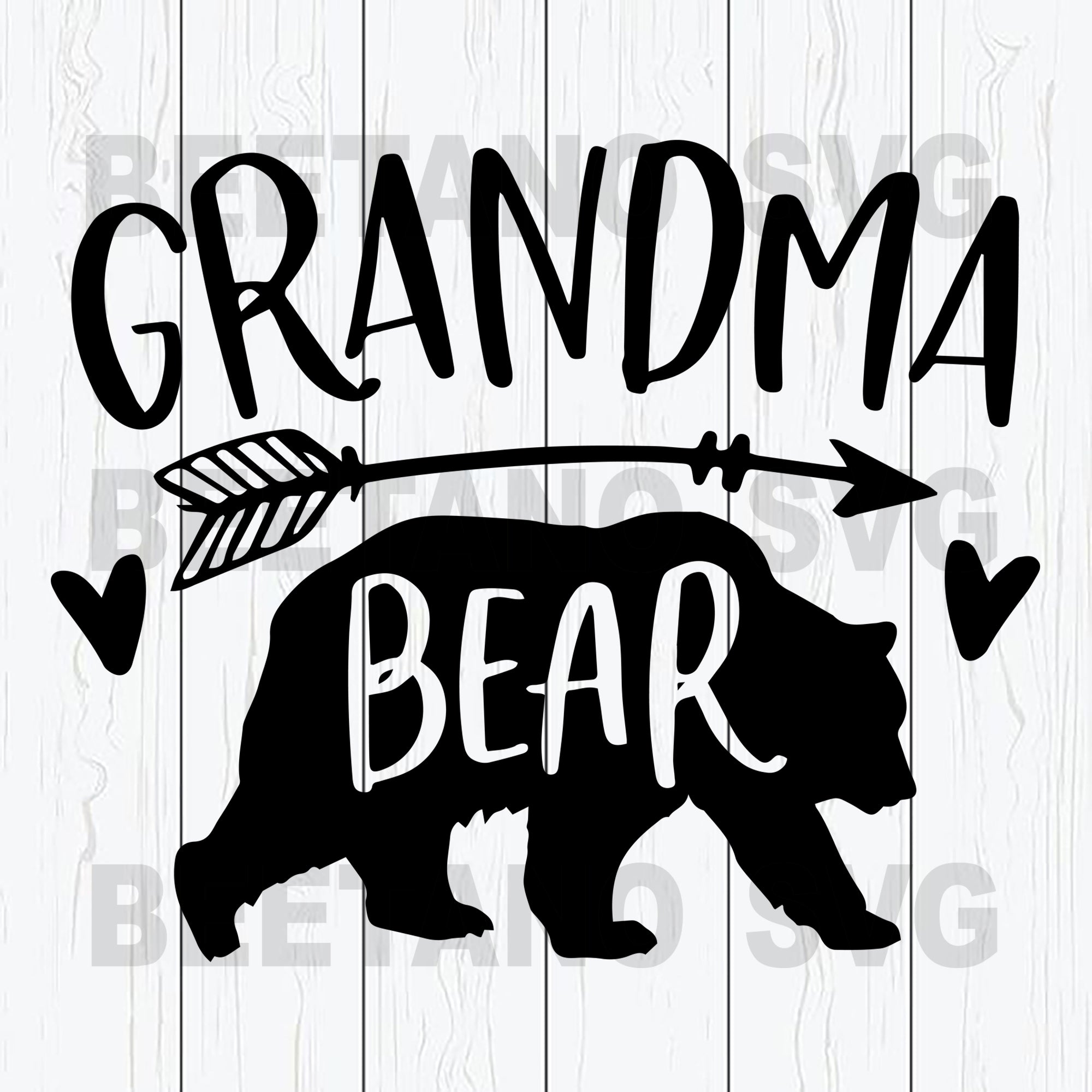 Grandma Bear High Quality Svg Cut Files Best For Unique Craft Beetanosvg Scalable Vector Graphics