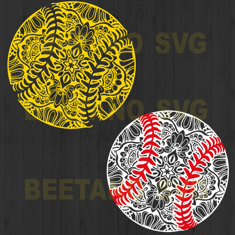 Softball svg, softball mandala svg bundle, mandala svg, digital download, softball cutting file, zentangle svg, softball bundle svg, svg files for cricut