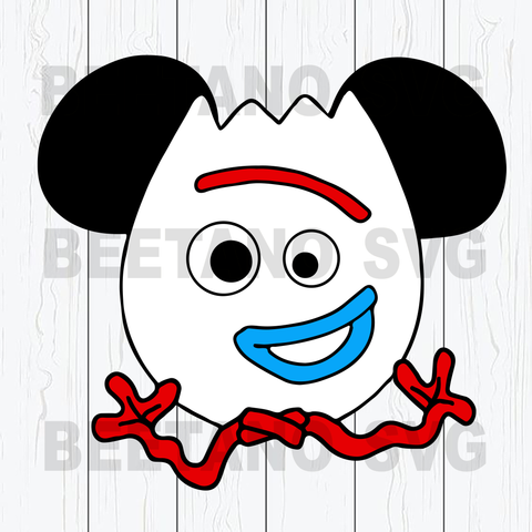 Forky mouse ears svg