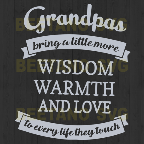 Grandpas Bring A Little More Wisdom family