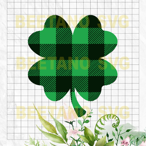 St patrick day Shamrock Cutting Files For Cricut, SVG, DXF, EPS, PNG Instant Download