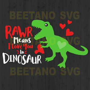 Dinosaur funny love you