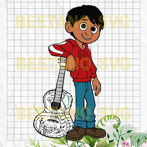 Miguel Rivera Coco Svg, Coco Svg Files, Files For Cricut, SVG, DXF, EPS, PNG Instant Download