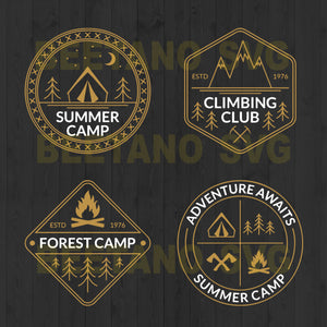 Camping Life Svg Bundle