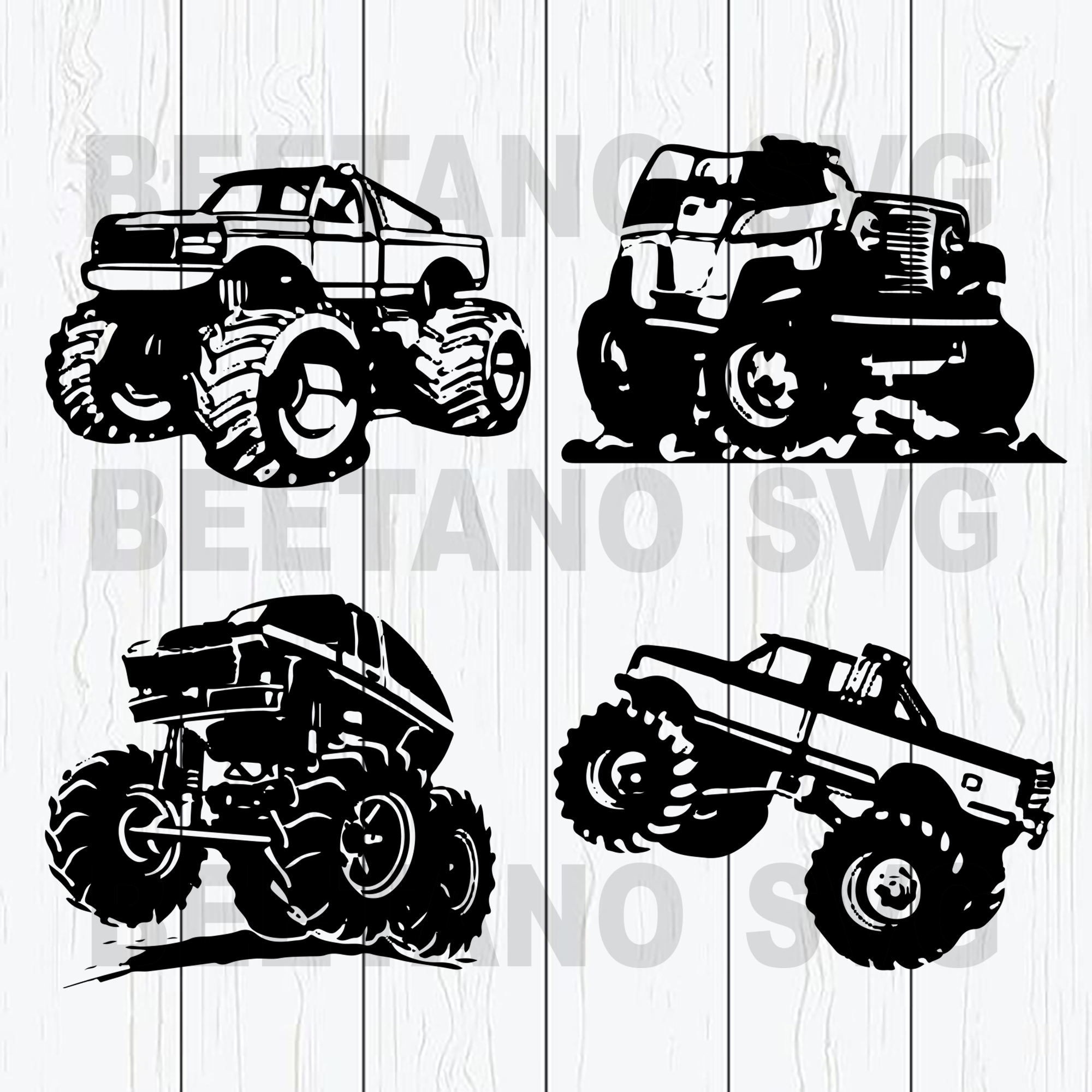 Jeep cars Cutting Files For Cricut, SVG, DXF, EPS, PNG Instant Download