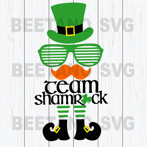 Team Shamrock Cutting Files For Cricut, SVG, DXF, EPS, PNG Instant Download