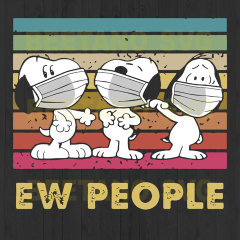 Ew People Snoopy Wear Facemask