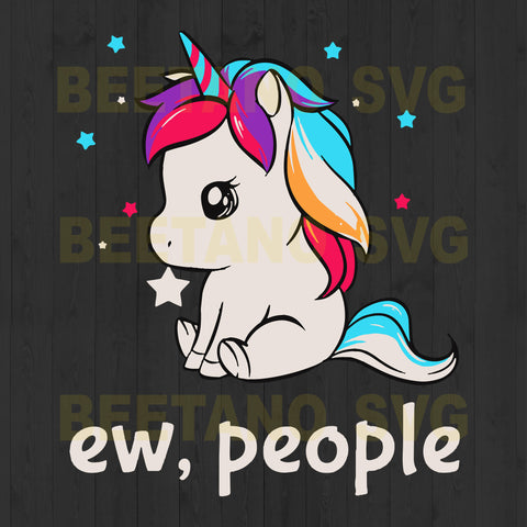 Ew People Unicorn