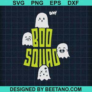 Boo Squad Cute Ghosts