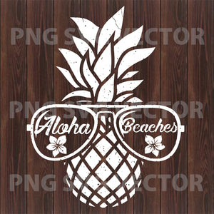Pineapple Glasses Svg