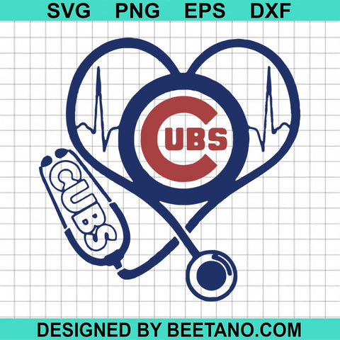 Lover Chicago Cubs Football Heart Beat