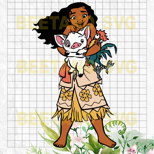Moana Svg Moana Disney Cutting Files For Cricut Svg Dxf Eps Png I Beetanosvg Scalable Vector Graphics