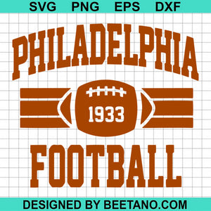 Philadelphiia Football Athletic Vitage Sports