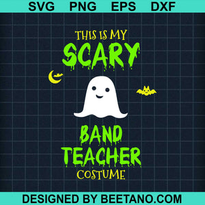 Scary Band Teacher Costume Halloween