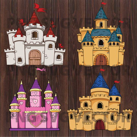 Castle Svg Bundle