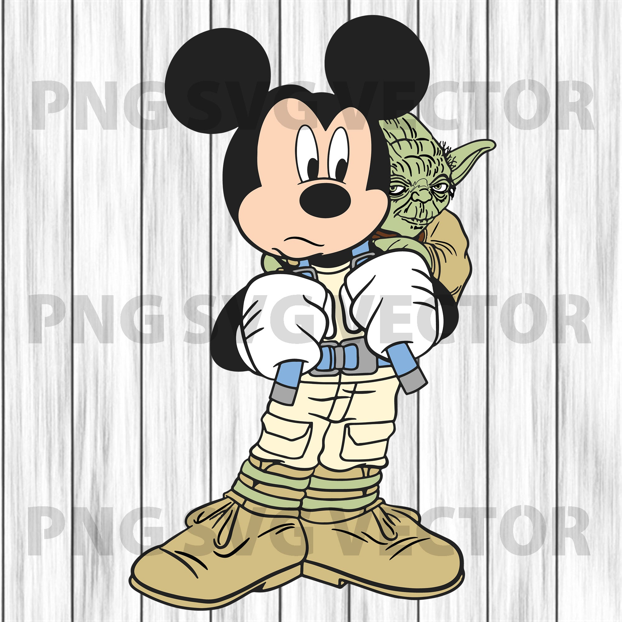 Mickey yoda svg, mickey yoda clipart, mickey yoda cutting file, mickey svg, yoda svg, yoda clipart, mickey clipart