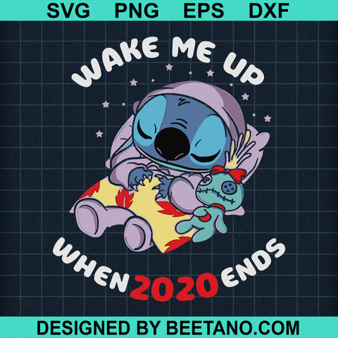 Wake me up when 2020 end stitch