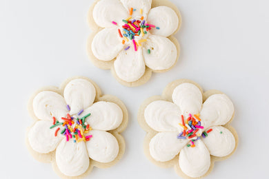 1- Dozen Buttercream Sugar Cookies