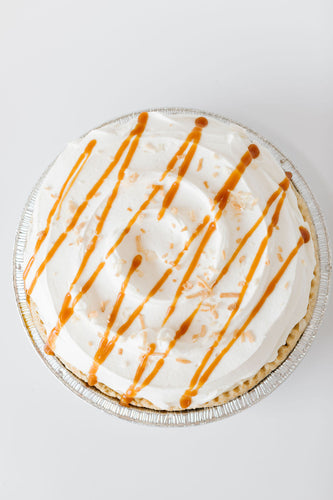 "Caramel Coconut Cream Pie (9"" Pie)"