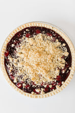 "Load image into Gallery viewer, Blueberry Crumb Pie (9"" round pie)"