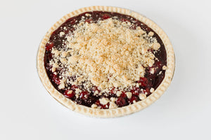 "Blueberry Crumb Pie (9"" round pie)"