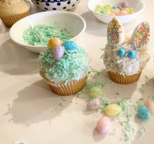 Load image into Gallery viewer, Easter Bunny & Nest Cupcake Decorating Kit