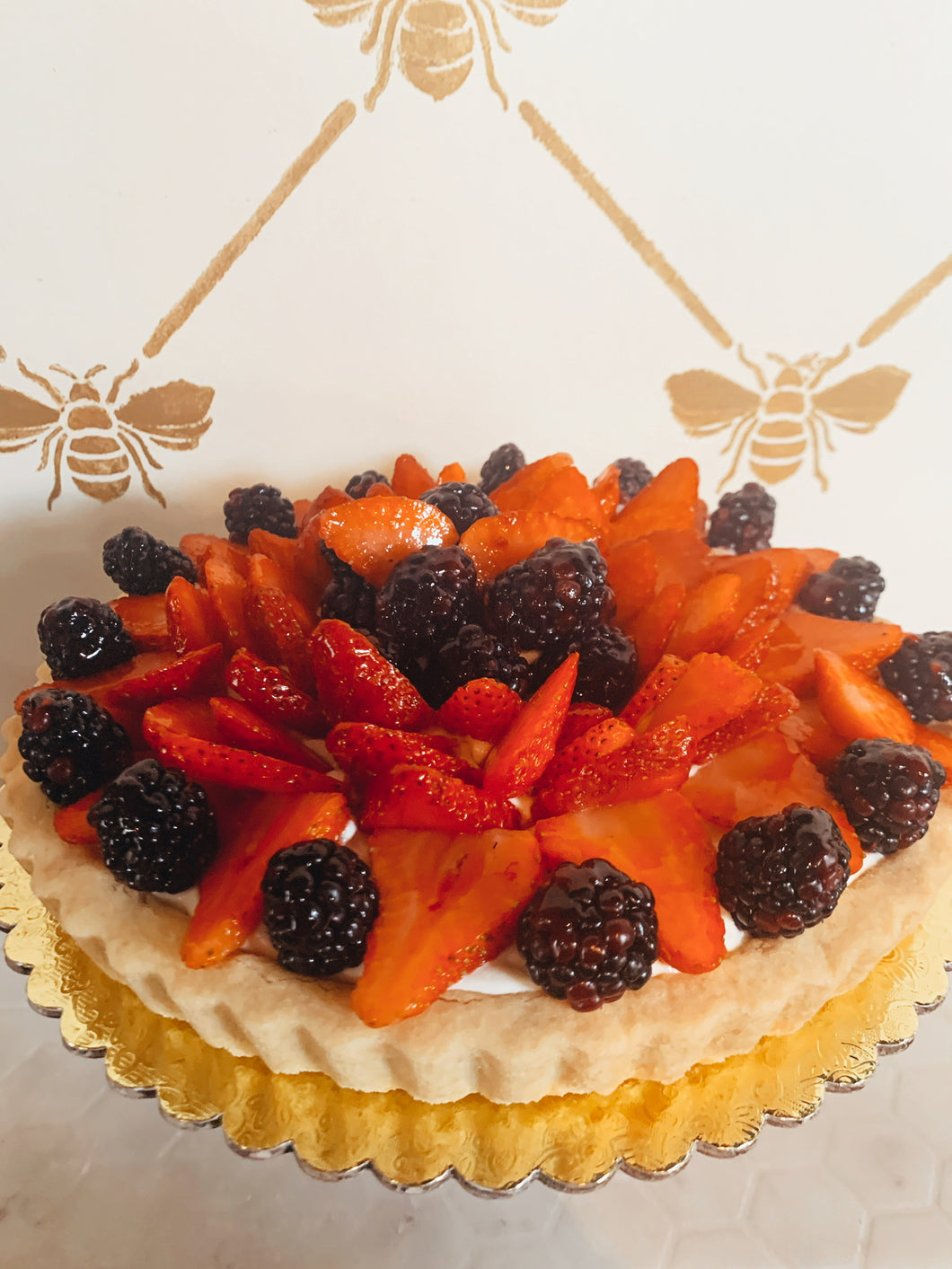 "Fresh Fruit Tart (9"" tart)"