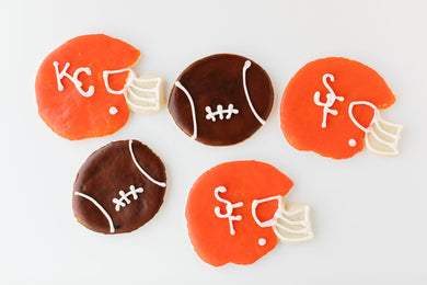 Super Bowl Cookie Boxes