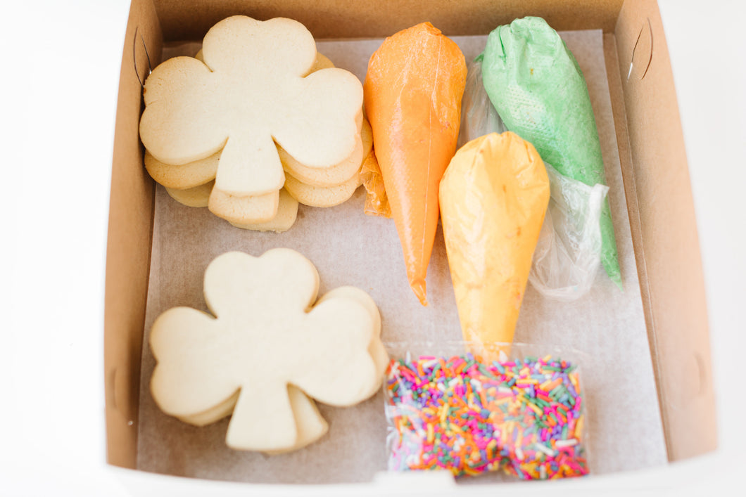 St Patty's Cookie Decorating Kit