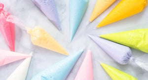 Extra Piping Bags of Royal Icing