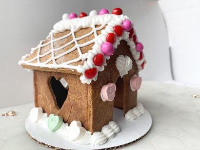 Love Shack Mini-Gingerbread House