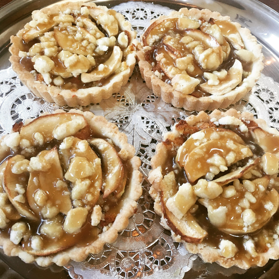 "Toffee Apple Tart (4"" tart)"