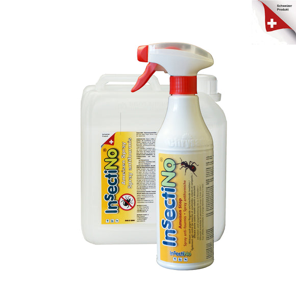 InsectiNo AmeisenStop Set 1/1 x 500 ml Handsprüher 1 x Kanister 2 ltr