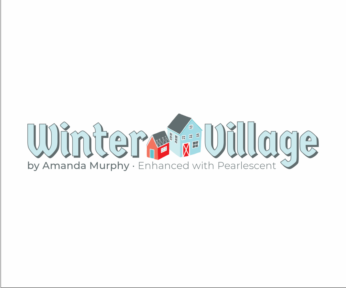 Winter Village by Amanda Murphy