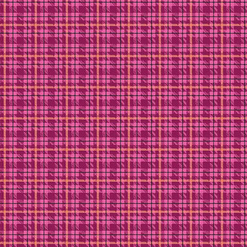 Warp and Weft II- Multi Plaid Berry