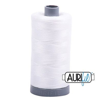 Aurifil Cotton 28 Weight Natural White
