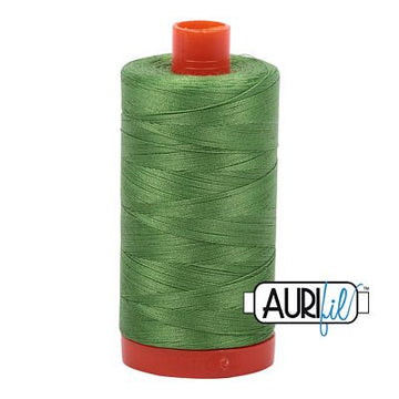 Aurifil Thread 50wt Grass Green