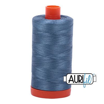 Aurifil Thread 50wt Blue Gray