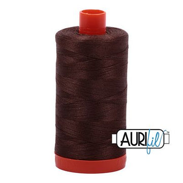 Aurifil Thread 50wt Medium Bark