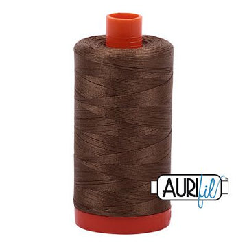 Aurifil Thread 50wt Dark Sandstone