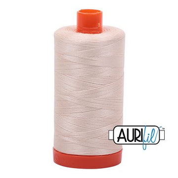 Aurifil Cotton 50 Weight Light Sand