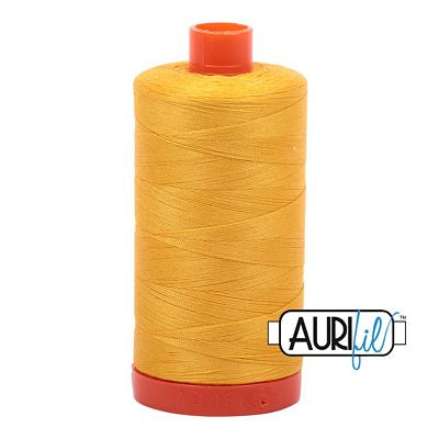 Aurifil Thread 50wt Yellow