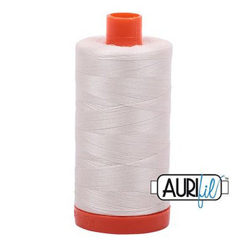 Aurifil Cotton 50 Weight Muslin